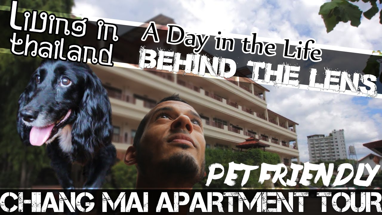 Cheap Chiang Mai Apartment Tour #PET FRIENDLY