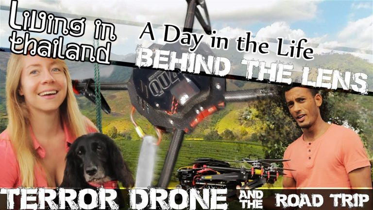 Day Trip To MAESALONG In A Very Old Car & The TERROR DRONE -LIVING IN THAILAND-(ADITL BTL EP3)