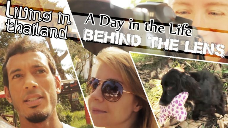 LIVING IN THAILAND- Our Vlog, Our Work, Our Home, Our Dog (ADITL BTL EP1)