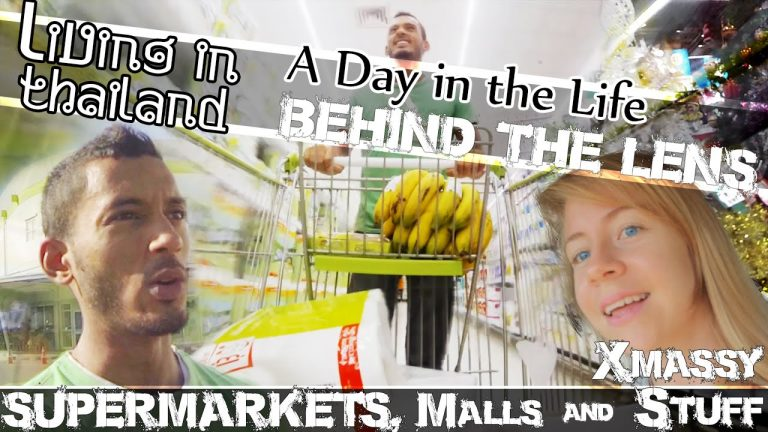 LIVING IN THAILAND VLOG- Shopping Malls, Supermarkets & A Surprise Visitor (ADITL BTL EP4)