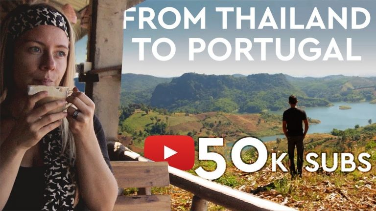 Living In THAILAND Vs PORTUGAL – From Then Until Now [50K SUBSCRIBERS]