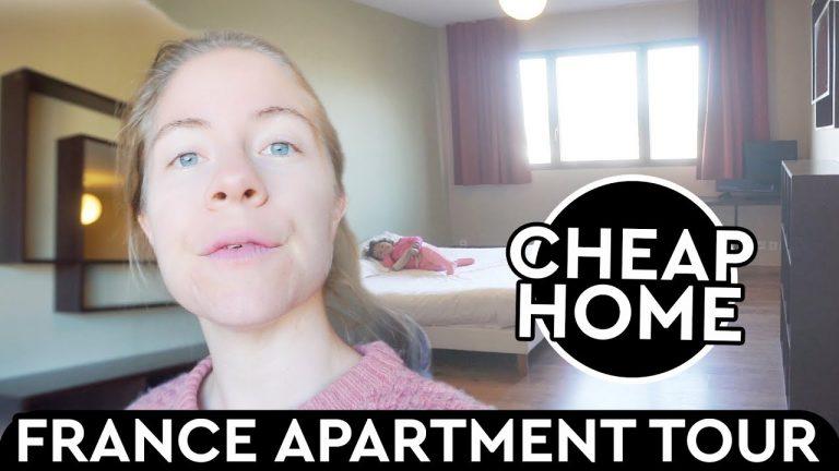 France Apartment Tour, Cheap Home In Nantes
