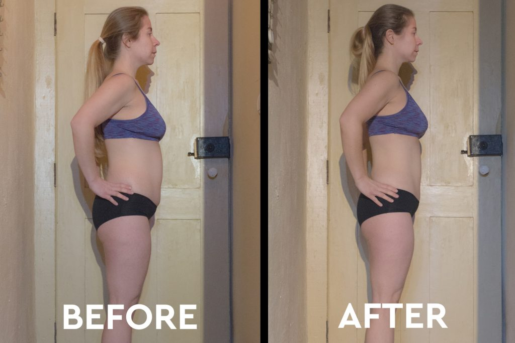 3 day juice cleanse before after body transformation