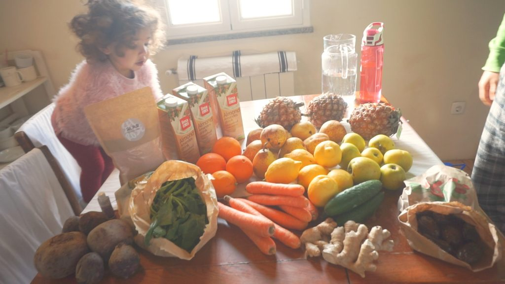 3 day juice cleanse ingredients