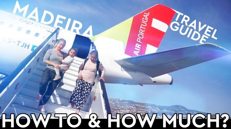 Madeira Travel Tips ✈️ LISBON to FUNCHAL w/ TAP Air Portugal