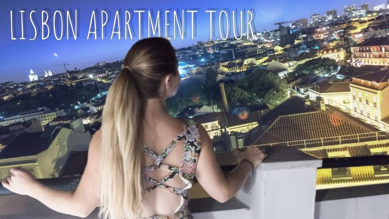 Living In LISBON FULL APARTMENT TOUR And Neighborhood