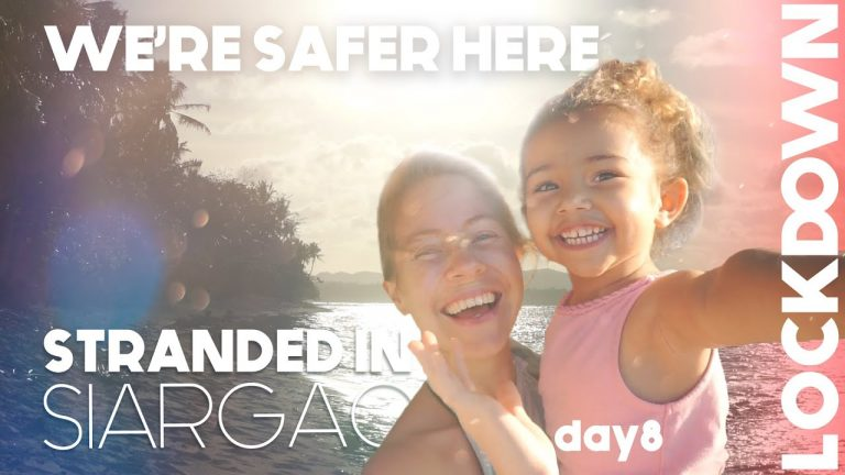 Foreign Family STRANDED In Siargao DAY 8 – We're SAFER HERE