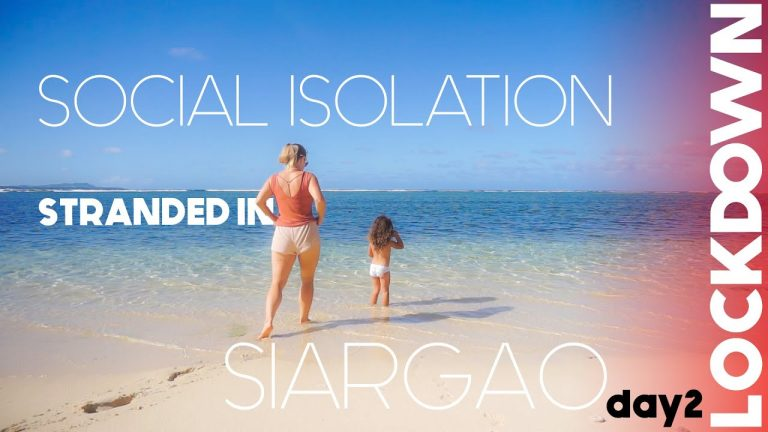 STRANDED In Siargao Day 2 (SOCIAL DISTANCING ADVISED)