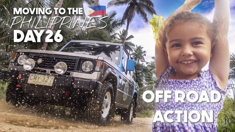 Off Roading SIARGAO PHILIPPINES Rainy Season 4×4 ADVENTURE