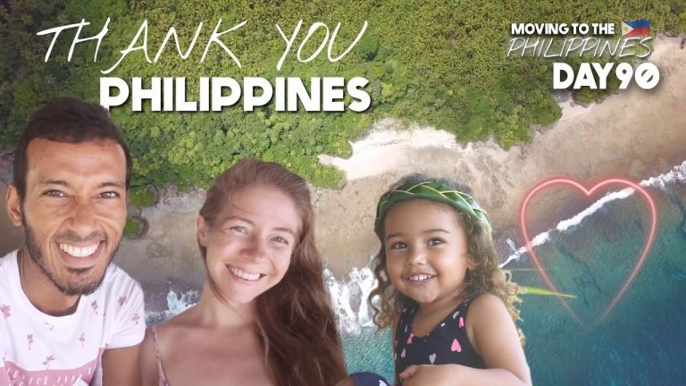 Thank You PHILIPPINES British Family SO GRATEFUL For Filipino Welcome
