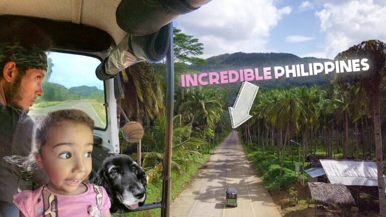 The PHILIPPINES Most BEAUTIFUL Island DRIVE