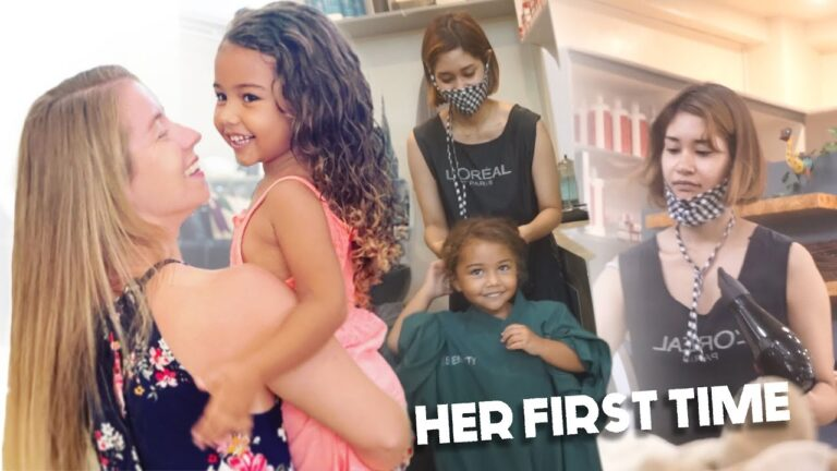 AMAZING Philippines Hair Salon 🇵🇭 HER FIRST TIME – Story's REVIEW