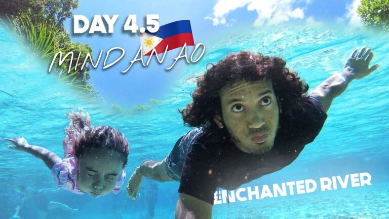 MINDANAO Enchanted River SWIMMING IN BLUEST WATER | Day 4.5