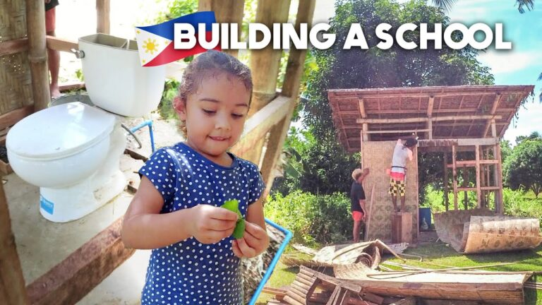 Read more about the article CONSTRUCTION Has BEGUN! Building An ALTERNATIVE SCHOOL In The Philippines